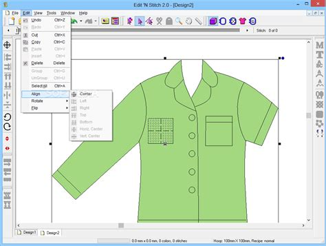 layout editor ungroup edit n stitch download