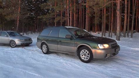 subaru outback road 1 subaru outback 2001 2 5 at winter road
