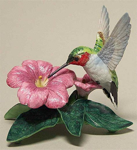 lenox garden birds figurine hummingbird 1988 73231 ebay