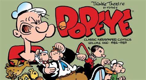 Pop Eye Class by Sneak Peek Popeye The Classic Newspaper Comics Major