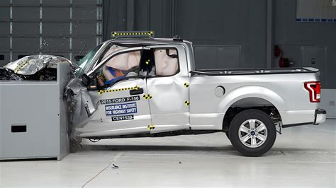 f150 aluminum bed ford aluminum body pickup gets mixed results in crash test