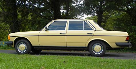 1985 mercedes 300d side view classic cars today