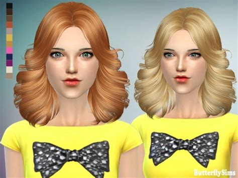butterfly sims hair sims 4 b fly hair af p089 no hat pay at butterfly sims 187 sims 4