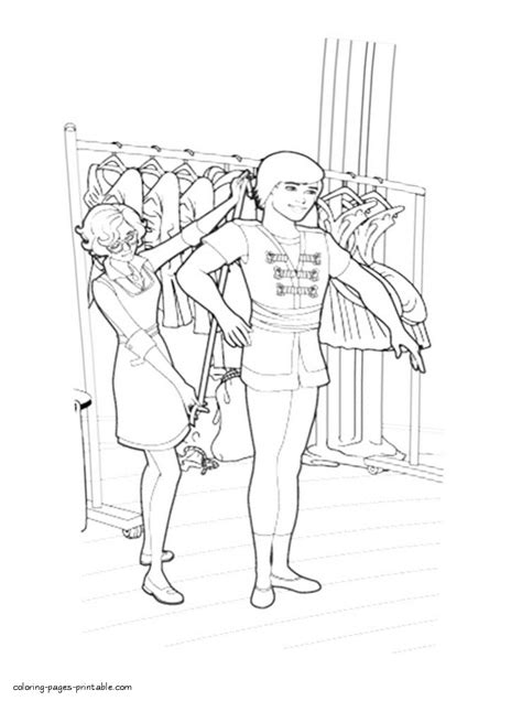 barbie coloring pages that you can print barbie in the pink shoes coloring pages that you can print 9
