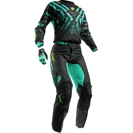 womens motocross riding gear thor 2017 women s pulse combo facet motosport