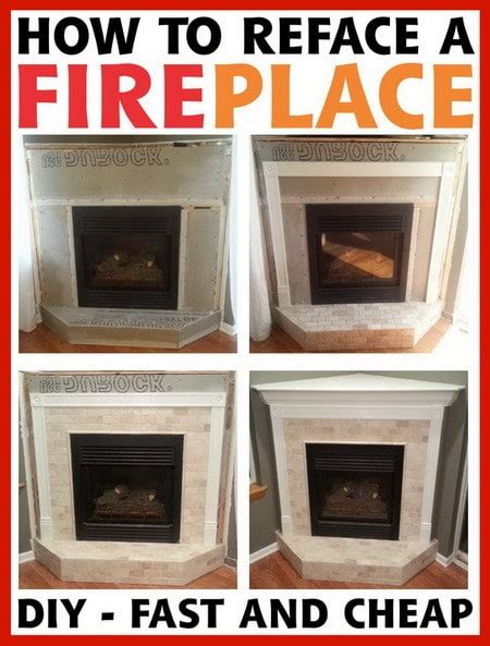 How To Reface A Fireplace Step By Step   RemoveandReplace.com