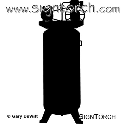 air compressor  signtorch turning images  vector