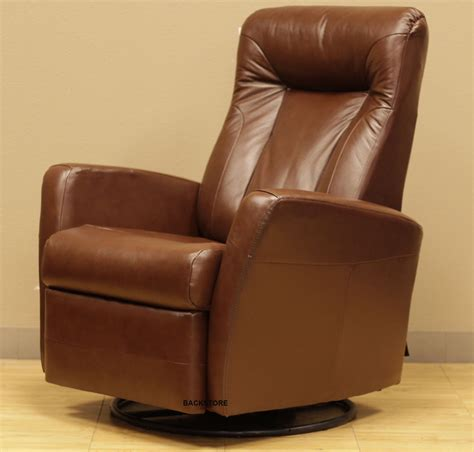 Rocker Glider Recliner Barcalounger Grissom Ii Swing Rocker Glider Recliner Lounger Chair Brown Leather Ebay