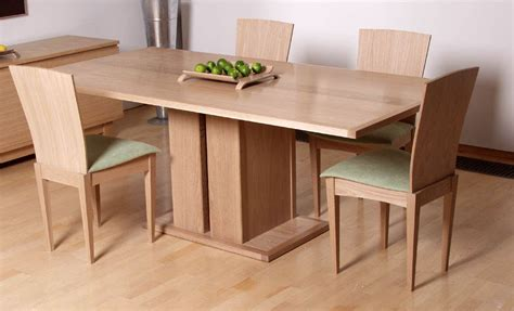 Bespoke Dining Table Bespoke Dining Table And Chairs In Oak Makers Eye