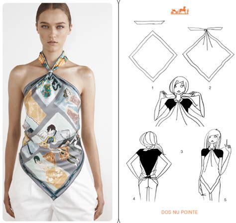 Draping Tutorial 15 Tying Ways To Turn Scarf Into Fashion Top
