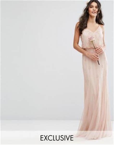 Ammelia Maxy Dusty amelia amelia embellished overlay maxi dress