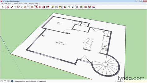 drawing a floor plan in sketchup floor plan sketchup gurus floor