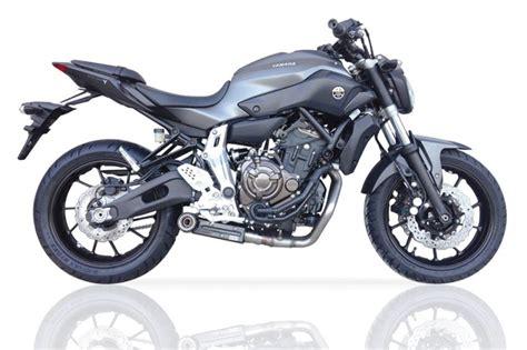 Motorrad Auspuff Mt 07 by Ixil Sx1 Auspuff Komplettanlage Yamaha Mt 07 Motocage