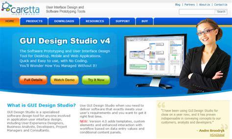 html gui design tool gui design studio prototyping and user interface design