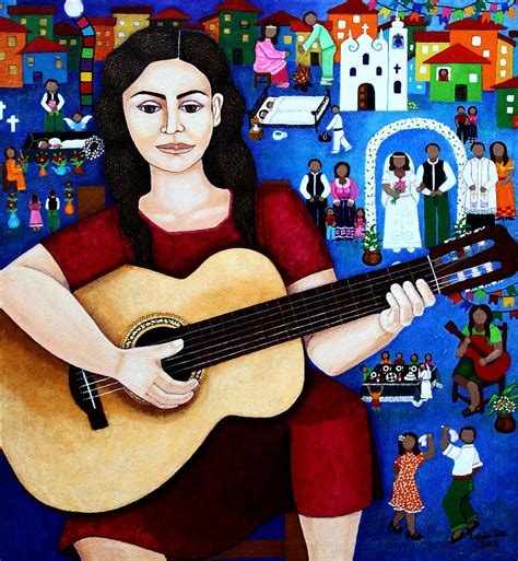 violetta painting violeta parra and the song black wedding painting by