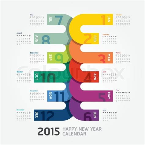 design new year calendar 2015 calendar 2015 happy new year calendar design