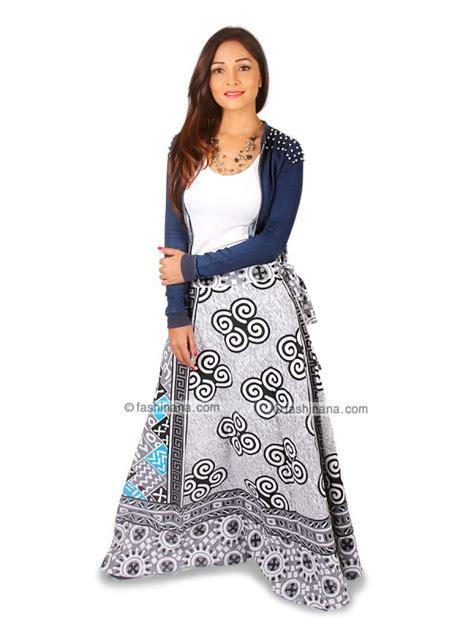 El Rajasha Top Grey wrap around skirts wrap skirt sarong