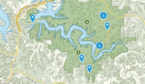 overnight boat rental lake of the ozarks best trails in lake of the ozarks state park missouri