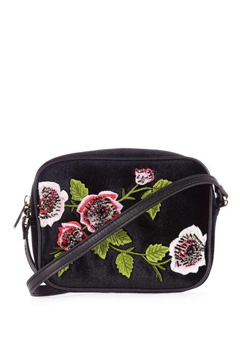Embroidered Bag by Velvet Floral Embroidered Crossbody Bag Topshop
