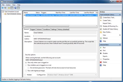 how to schedule a task in windows how to create scheduled task in windows vista