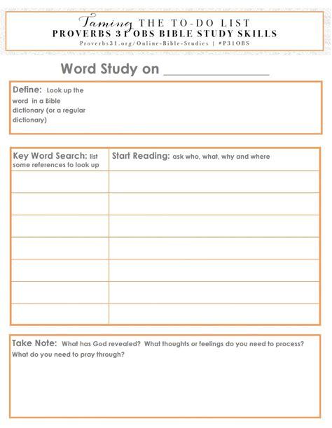 Tameyourlist Proverbs 31 Online Bible Study Week 4 Bible Study Skill Word Study On Grace Bible Study Template