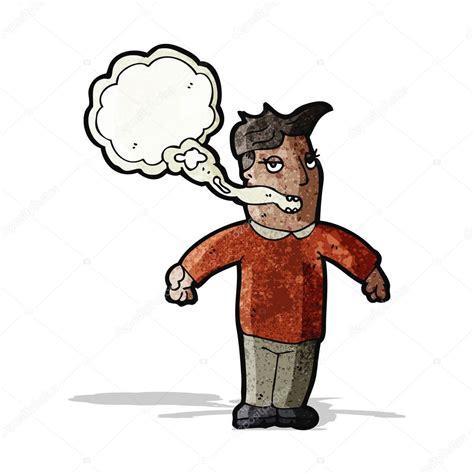 imagenes animadas html hombre de dibujos animados con la respiraci 243 n de los