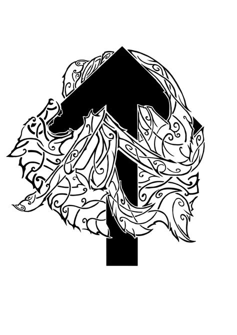 tyr tattoo idea by gmgorst on deviantart