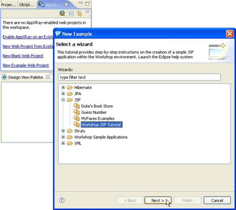 tutorial eclipse oracle jsf tutorial eclipse