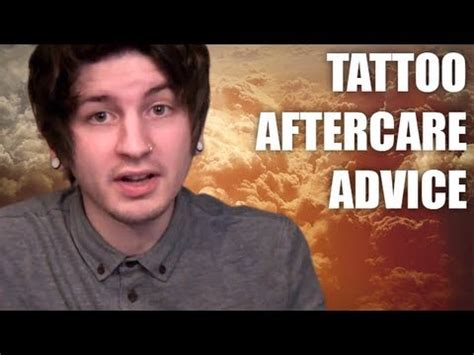 tattoo aftercare youtube tattoo aftercare insutructions healing advice and tips