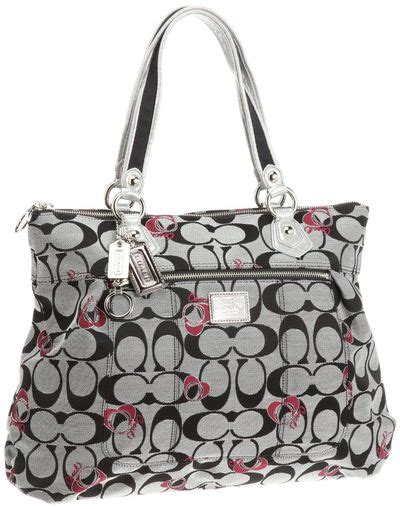 couch poppy authentic coach poppy signature glamour tote bag 18711