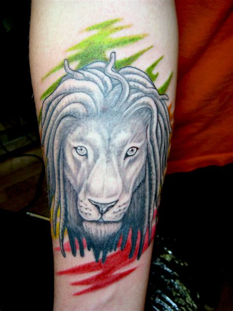 rasta tattoos designs simson