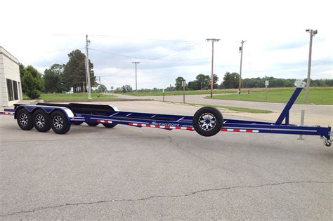 boat trailer triple axle used triple axle heritage trailers
