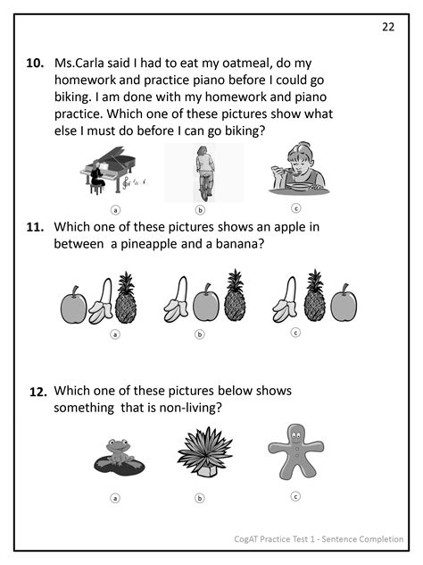 cogat test prep series number analogies volume 1 books 2 practice tests for the cogat form 7 grade 2 smartcookie
