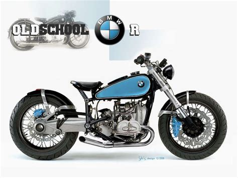 school bmw motorcycles motorcycle 74 bmw oldschool bobber