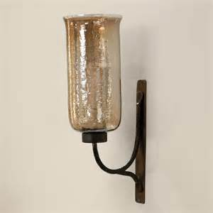 Candle Sconces Imax Large Hurricane Candle Wall Sconce At Hayneedle