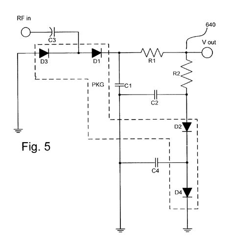 diode detector circuit patent us6825715 temperature compensated high efficiency diode detector patents