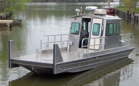 used scully aluminum boats for sale 32 work boats scully s aluminum boats inc
