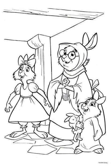 disney coloring pages robin hood robin hood coloring page coloring pages pinterest