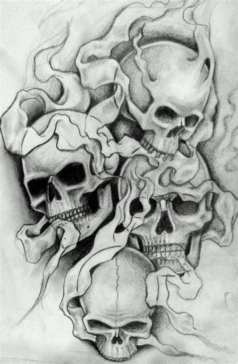 smokey tattoos smokey skulls 2 by 76bev on deviantart skull tattoos
