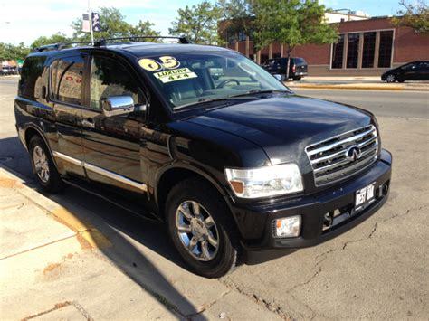 car owners manuals for sale 2005 infiniti qx engine control used 2005 infiniti qx56 for sale carsforsale com