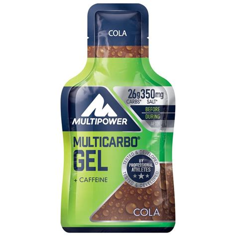 40g carbohydrates multipower multicarbo gel with carbohydrates 40g bike24