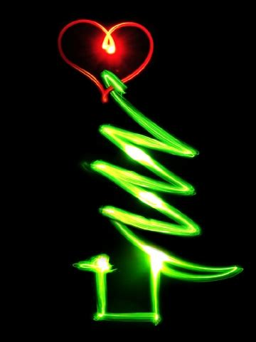 christmas tree heart wallpaper iphone blackberry