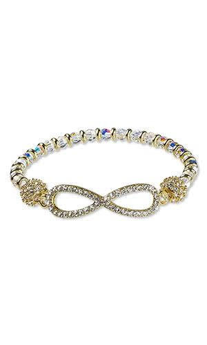 focal swarovski 174 crystals epoxy jewelry design bracelet with glass rhinestone