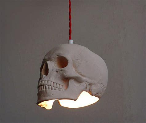 Skull Lights by Skull Pendant Light Cool Material