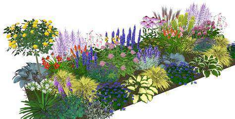 garden planting plans photo and photos border ideas 10mcottage1 jpg 1102 215 560 garden paradise