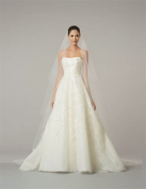 wedding dresses carolina herrera fall 2015 wedding dresses world of bridal