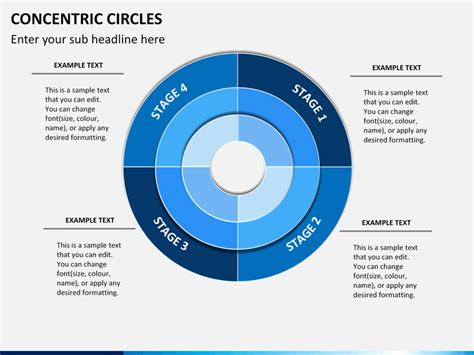 Concentric Circles Powerpoint Sketchbubble Concentric Circles Powerpoint Template
