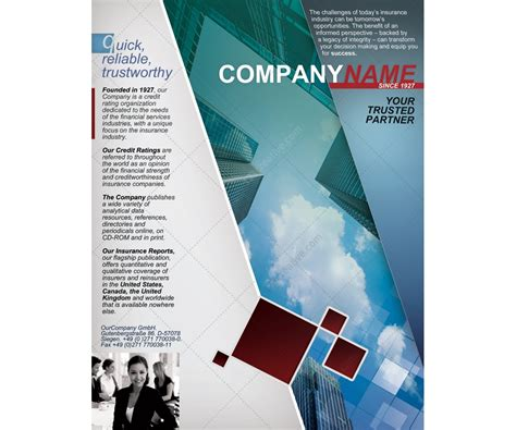 Fresh Corporate Flyer Template Company Flyer Business