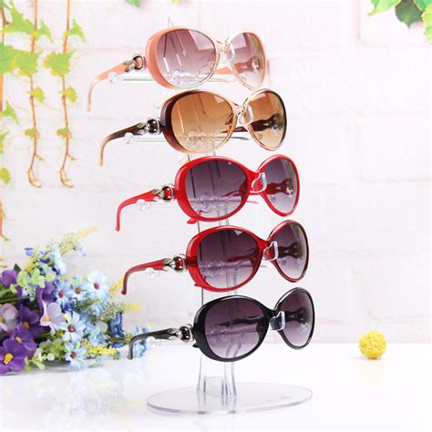 On The Shelf Glasses by New 5 Pairs Glasses Sun Glasses Display Shelf Sunglasses