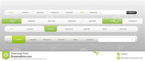 Website Menu Template Navigation Stock Vector Illustration Of Background Elegant 16946501 Web Page Menu Templates